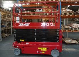 ZMG ZS1212 werkhoogte 14m.